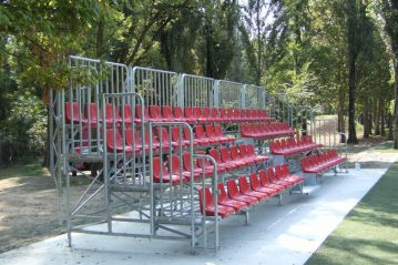 Tribuna Centro Sportivo Vismara - Milano