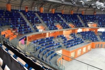 OMSI - sedute e poltrone sportive per stadi, palazzetti e impianti sportivi - sedute eco-compatibili