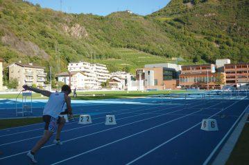 Pista in Mondotrack Campo CONI (Bolzano) - 2016