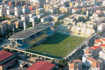 Lo stadio Pino Zaccheria oggi