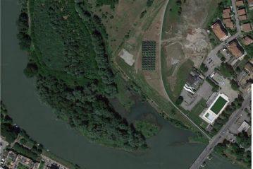 Lodi: vista aerea del sito