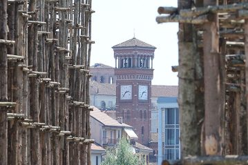Lodi: vista verso la  città
