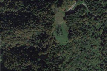 Arera: vista aerea del sito