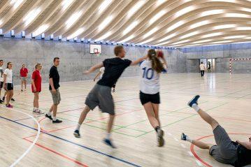Hellerup (Danimarca), centro sportivo scolastico (Bjarke Ingels, BIG)