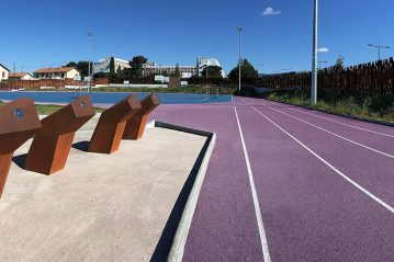 Marsiglia, Stade du Merlan (Studio NAOM)