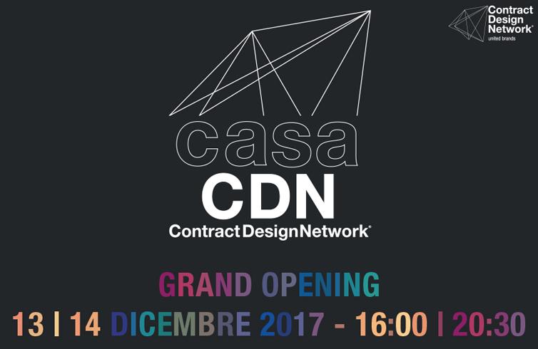 casa CDN Milano - locandina apertura