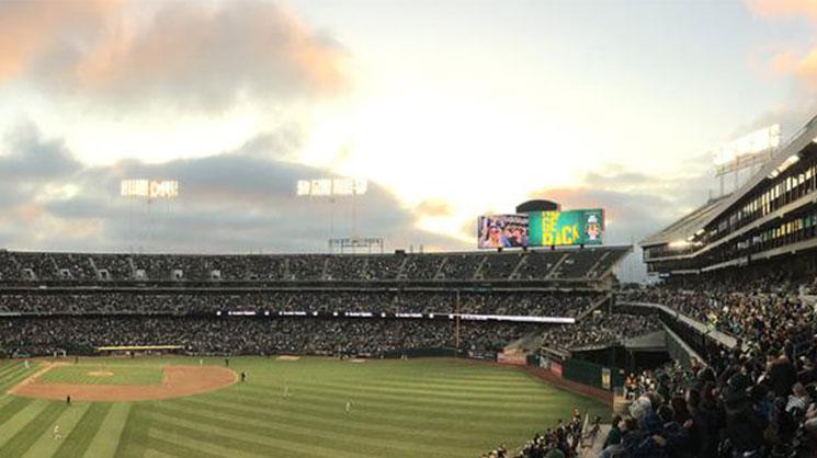 Oakland Athletics stadio baseball progetto