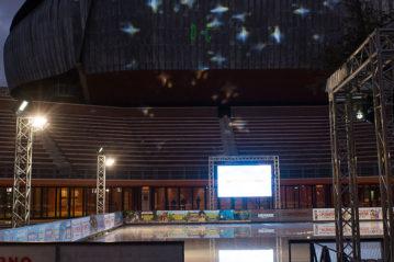 Roma, pista al Parco Auditorium della Musica