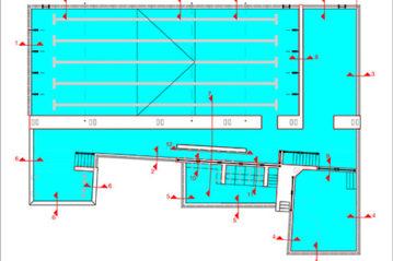 pools' planimetry