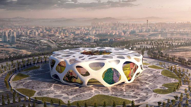 Turkey Ataturk Stadium ©  AFL-UK