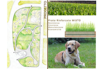 Milan, a dogs' area project in Parco Sempione