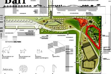 Bari, competition for a park in the Japigia district (Florio Studio)