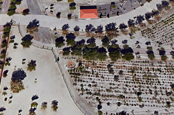 View of Parque del Andarax from Google Earth