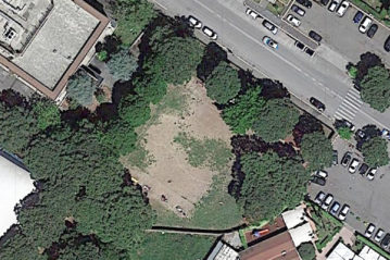 "Ortofoto of ""Simpatiche Canaglie""  area from google maps"