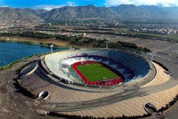 L'Azadi Stadium di Teheran.