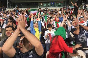 Partita Iran-Spagna, giugno 2018.