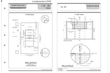Una classica scheda di standard dimensionali.