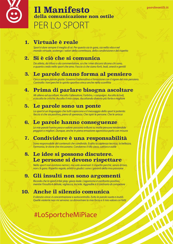 manifesto sport A4