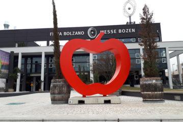 L'ingresso di Fiera Bolzano