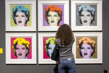 Interno della mostra (foto Paolo Poce).