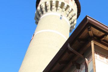 La torre piezometrica oggi.