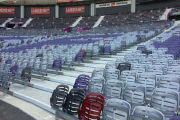 Sedute Bertelé: Stadio di Tolosa, Francia