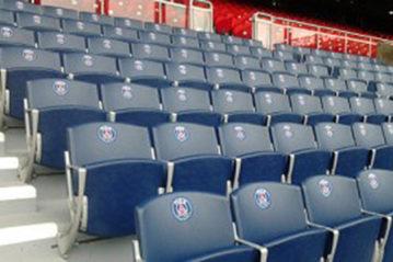 Sedute Bertelé: Stadio Parc des Princes, Parigi.