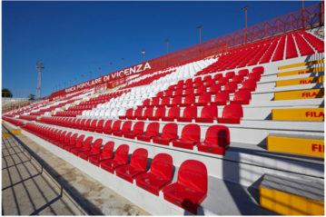 Sedute Bericoplast: stadio Menti, Vicenza