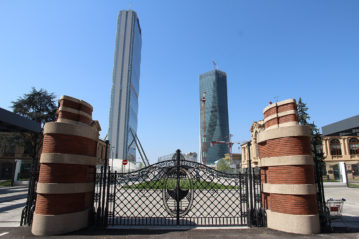 L'ingresso a Citylife da Porta Domodossola.