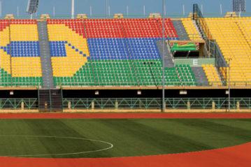 Sedute Omsi: Stadio di Lagos, Nigeria