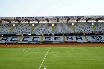 Sedute Bertelé: Stadio Manuzzi, Cesena