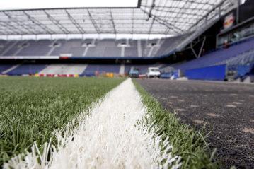 L'erba sintetica dello Stadio.