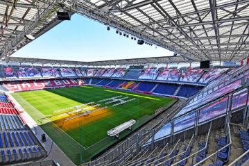 Panoramica della Red Bull Arena il 28 febbraio scorso. Photo: GEPA pictures/ Florian Ertl.