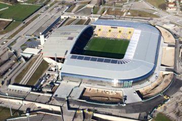 La Dacia Arena di Udine.