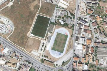 L'Aquila: l'area di Piazza d'Armi oggi (Google Earth)