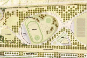 Prima fase: l'area atletica leggera