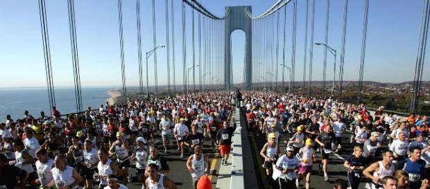 La Maratona di New York sul ponte di Verrazzano (repertorio)
