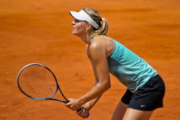 Maria Shaparova agli Internazionali d'Italia del 2012 (ph. Francesca Moscatelli / Shutterstock)