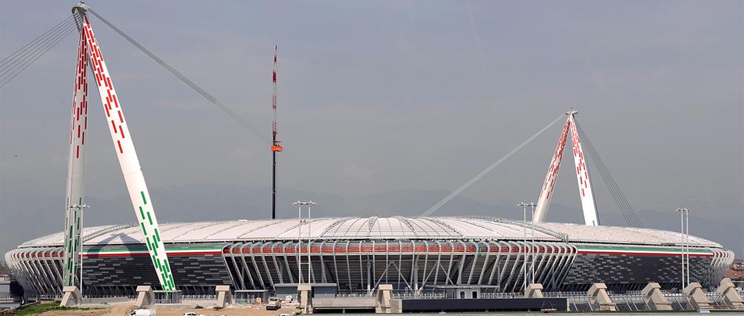 L'esterno dell'Allianz Stadium