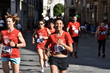 Edizione 2018: corsa (Foto Piero Cruciatti / LaPresse)