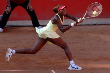 Venus Williams agli Internazionali d'Italia del 2006 (ph. Paolo Bona / Shutterstock)