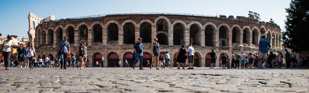 Arena di Verona, arrivo dell'ultima tappa
