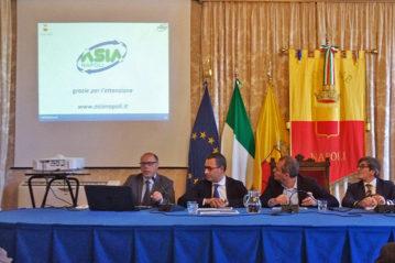 Firma del contratto di servizio tra il Comune di Napoli e Asia