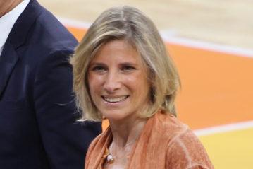 L'assessore allo sport del Comune di Milano Roberta Guaineri