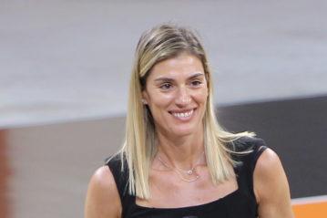 La pallavolista Francesca Piccinini