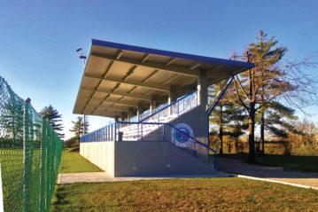 Campo di calcio in erba sintetica - Pagnacco