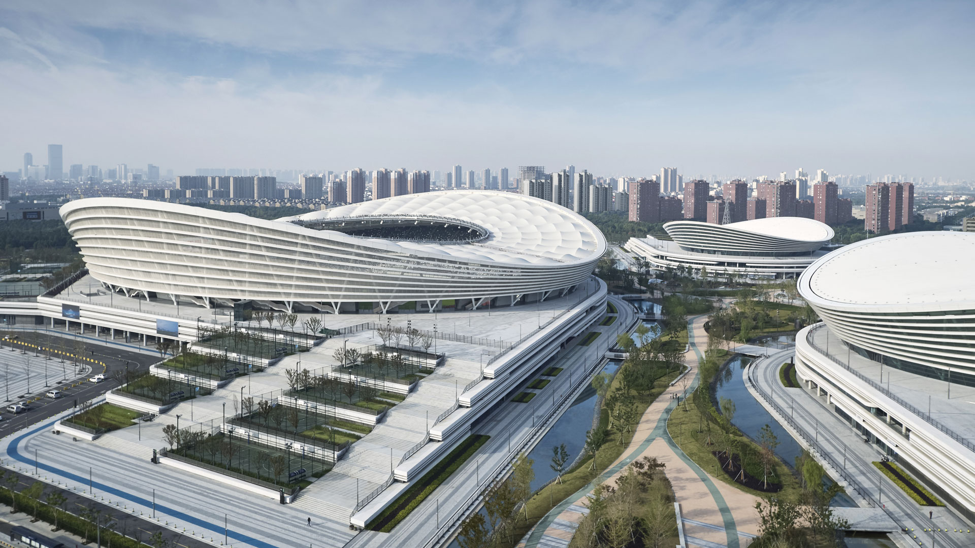 Olympic Sports Center In Suzhou China Sport Amp Impianti