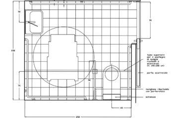 WC per disabili (pianta)