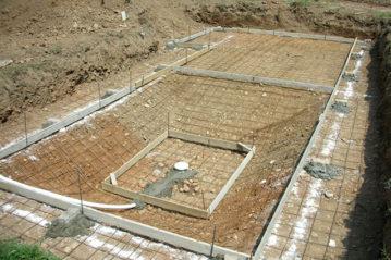 Realizzazione del fondo di una piscina privata
