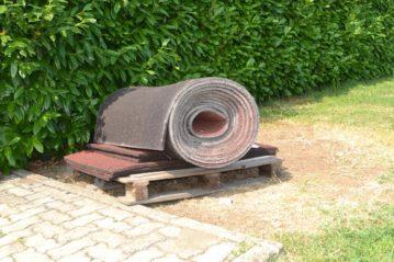 Roll della vetusta pavimentazione